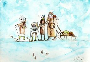 polar expedition by faQy