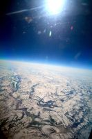 Ice View from the Sky by LadyAngelus