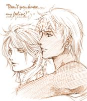 Ren n' Louis_Don't you know? by Ecthelian