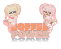 Coffeeee power by OhAnneli