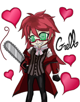 Grell Drawing 2 by MakePastaNot-War