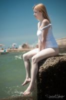 Sitting on the Shores by OttoMarzo