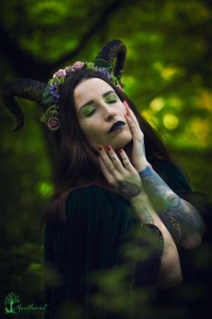 Forest Faun by LucreciaMortishia