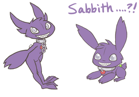 Sabbith...?! by chibiphlosion