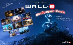 Wall.E Wallpaper-Pack by xela127