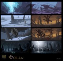 worlds environments by thevampiredio