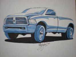 2010 Dodge Ram 3500 by dieselart