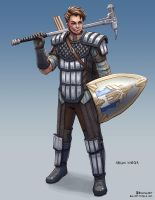 Naelon Warder Lvl 4 by bchart