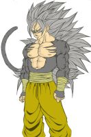 ssj5 Son goku by MajinMina by Alking-Luffy