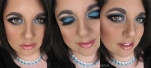 Carolina Panthers Super Bowl Makeup by Cinnamoncandy