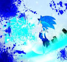 Sonic the hedgehog... by 415sonic