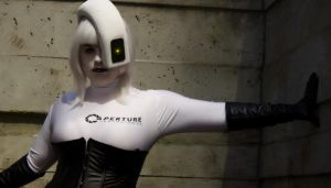 Gabi as GlaDOS by nwcosplay