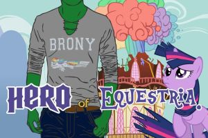 Brony Hero of Equestria VN Edition (link in desc.) by AilurusFulgen5