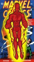 classic human torch by RWhitney75