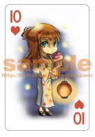 card sample 4 - summer season by Fortranica