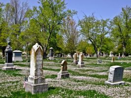 Cemetary III by Baq-Stock