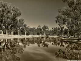 Refelections Around The Murray by djzontheball