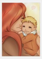 Naruto: Mommy's Baby Boy by Fuienu-chan