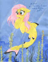 Fluttershark! by TwilightFlopple