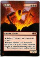 Inferno titan - Alter art by TomGreystone