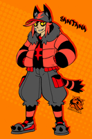 Santana  the Torracat by Darksilvania