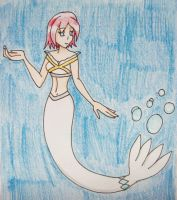Princess Elise as a Mermaid by Punisher2006