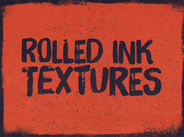 Rolled ink texture packs by simonh4