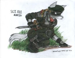 Sgt. Elle Martin by WMDiscovery93