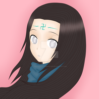 Neji - I am my hair by DeidaraLittleMonster