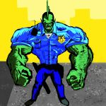 The Savage Dragon (WIP) by Bat-Dan