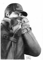 Aiden Pearce - Watch_Dogs by TheNightBeforeLast