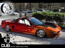 ACURA NSX DUB edition by HYBS