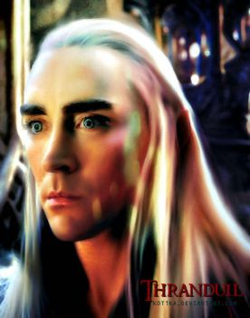Lee Pace - Thranduil by Kot1ka