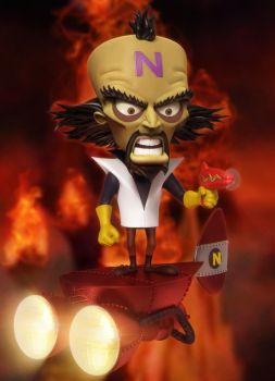 Dr. Neo Cortex by AEmiliusLives