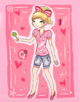 i luv candy by Bouchra-lina