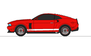 2012 Ford Mustang Mach 1 by airsoftfarmer