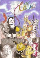 Cats Cute Version by SweetFabi
