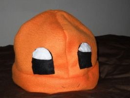 Charmander Fleece Hat by BuizelKnight