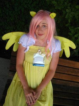 Fluttershy Cosplay - Kumori Con 2012 (2) by Reality-cat