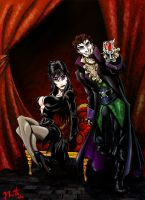 Elvira and I, colored by REBELComx