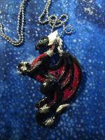 Cynder Pendant by DragonCid