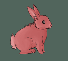 Red Rabbits by SAVCHENK0