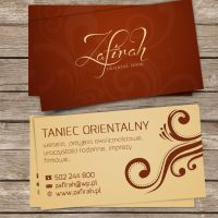 zafirah business card v2 by Orzeu