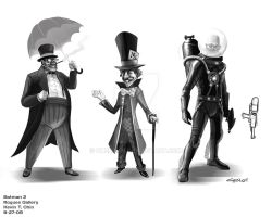 Batman 2 Rogues' Gallery by Chenzan