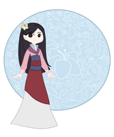 Mulan by kennasaur
