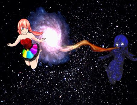 Supernova and Antimatter  by lucy1735