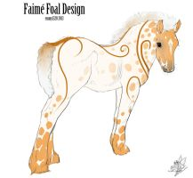 ID 480 foal design holder by Sashafras