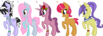 More Pony adopts! (Pony adopts 8) (ON HOLD!) by DarkMistyNights