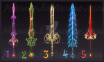 OPEN Weapon Adopt Design - Sword 1 by MhaxiR