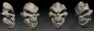DS2 Skull practice by 0SkyerS0